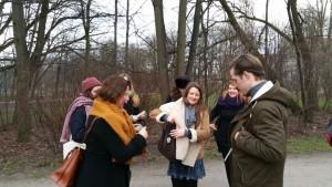 Unterwegs mit den Friday Writers der LMU München. Foto: Anton G. Leitner