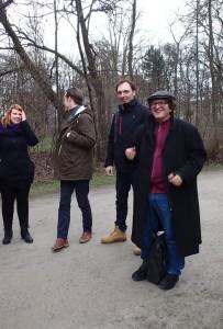 Unterwegs mit den Friday Writers der LMU München. Foto: Beate Carlsen