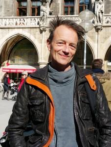 Michael Sailer am Marienplatz