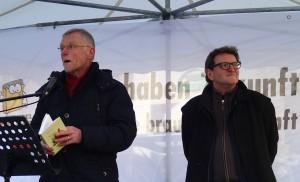 Hardy Scharf und Anton G. Leitner