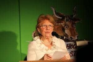 Hochstadter Stier 2015: Kandidatin Renate Schön (Foto: Kulturwelle 5)
