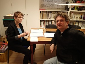 Kerstin Hensel und Anton G. Leitner