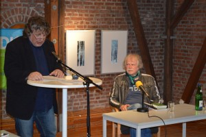 Hellmuth Opitz und Michael Augustin. Foto: Frank Wolfmeier