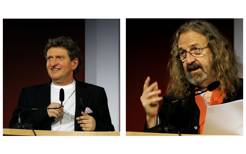 Anton G. Leitner und Manfred Chobot. Fotos: Volker Derlath