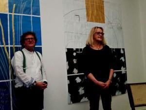 Anton G. Leitner und Ruth Martius. Foto: DAS GEDICHT