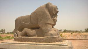 The mythical Lion of Babylon. Foto: Babylon Festival