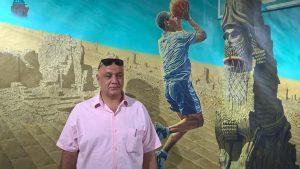 The Iraqi painter and artist Muayad Muhsin. Foto: Babylon Festival