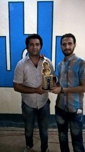 The awarded Iraqi actor Assad Mashai. Foto: Babylon Festival