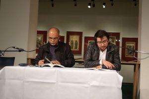 M. Alaaedin Abdul Moula und Paul-Henri Campbell