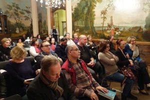 Das Publikum im Couven Museum in Aachen