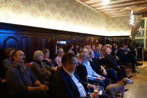 Das Publikum im Literaturhaus Berlin. Foto: DAS GEDICHT