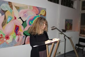 Birgit Müller-Wieland liest im Caveau.