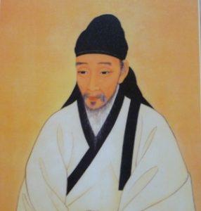 Der koreanische Dichter Toegye (Delta-Archiv, Stuttgart)