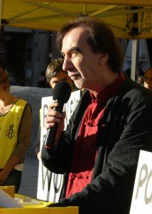Gerald Jatzek fordert, dass Menschenwürde mehr sein muss als nur eine Idee. Foto: Jan-Eike Hornauer