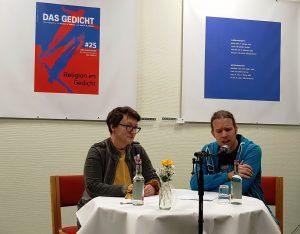 1. Duett: Melanie Arzenheimer und Matthias Kröner. Foto: Das Gedicht