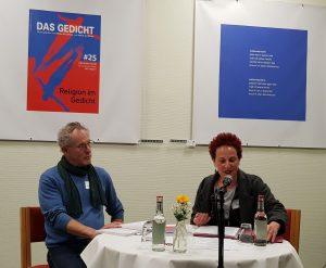 4. Duett: Jochen Stüsser-SImpson und Franziska Röchter. Foto: Das Gedicht