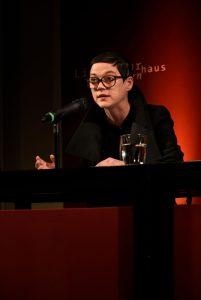 Nancy Hünger. Foto: Volker Derlath