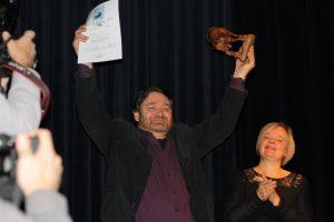 Jurypreisträger Karsten Paul und Mentorin Sabine Zaplin. Foto: Jan-Eike Hornauer