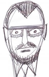 Paul Klee. Skizze: Alfons Schweiggert