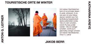 Jakob Berr / Katharina Kreye / Anton G. Leitner: Touristische Orte im Winter