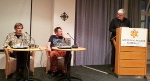 Achim Wagner, Maik Lippert und Georg M. Roers
