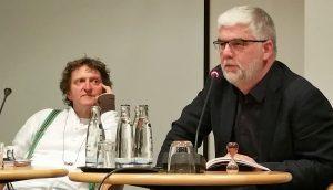 Anton G. Leitner und Georg M. Roers lesen Gedichte von Erich Jooß