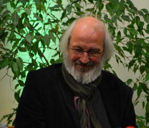 DAS GEDICHT 26-Premiere in Schleswig: Manfred Schlüter. Foto: Frank Wolfmeier